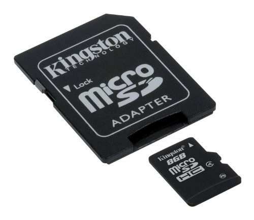 Kingston SDC4/16GB - Tarjeta de memoria micro SDHC de 16 GB (4 MB/s), negro