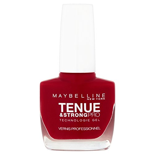 Maybelline New York Tenue & Strong pro - Vernis à ongles Rouge - 06 rouge...