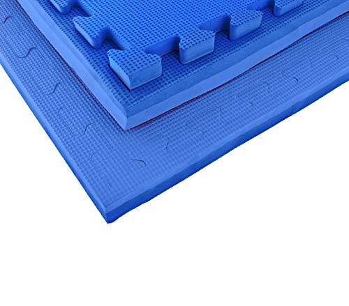 Mediawave Store Tappeto Puzzle in Eva 100 x 100 x 2 cm componibile Adatto per Playground e Sport...