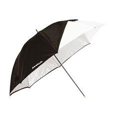 """Westcott 2012 - Paraguas de 32"""" para fotografía con funda (óptica blanco satinado), color negro"""