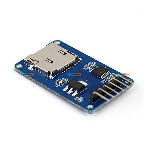 Generic KG072 KitsGuru Micro SD Storage Board, Micro SD TF Card Memory Shield Module SPI, Micro SD Adapter- Arduino, ARM and Other MCU