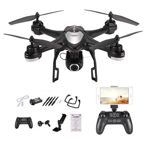 Goolsky S30W 2.4G 720P HD Telecamera Wifi FPV RC Quadcopter Selfie Drone con posizionamento GPS...