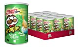 Pringles Sour Cream & Onion Chips, 12er Portions-Pack (12x70g)