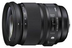 Sigma 24-105mm F4 DG OS HSM - Objetivo para cámara réflex Nikon (estabilizador, diámetro filtro 82 mm), color negro