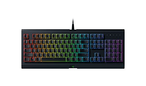 Razer Cynosa Chroma Tastiera da Gaming Membrane con Illuminazione, RGB, Design Robusto e Resistente all'Acqua, Key Roll-Over a 10 Tasti con Anti-ghosting, Layout Italiano
