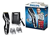 Philips HAIRCLIPPER Series 7000 HC7450/80 - Afeitadora (0,5 mm, 2,3 cm, 4,1 cm, Titanio, 120 min, 1 h)