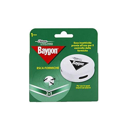 Baygon Esca Formiche - Confezione da 1 esca per uso in spazi interni ed esterni