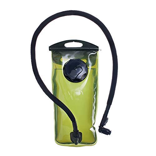 Kylebooker Depósito Camelback Bolsa de Agua para Deportes al Aire Libre Bolsa de hidratación Bolsa 2 l Agua, Color Verde, tamaño 2 L