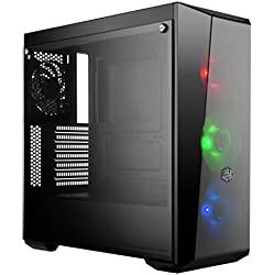 Cooler Master MasterBox Lite 5 RGB CPU Case with Top Ventilation (Black)