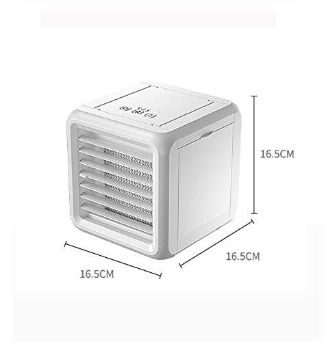 WZR 3 en 1 Mini Refroidisseur évaporatif,Personnel Pliable Humidificateur USB Accueil Office La Table De Nuit Dorm-a 16.5x16.5x16.5cm(6x6x6i... 23