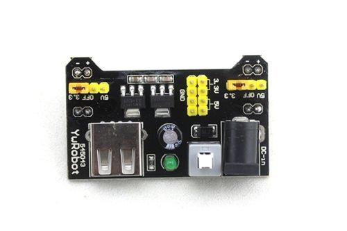 41NcBEToUgL - Ecloud Shop® 3.3V/módulo de alimentación de 5V MB102 breadboad para el Arduino proporcionad