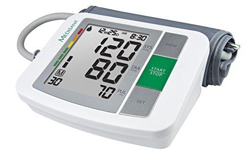 Medisana BU 510 Oberarm- Blutdruckmessgerät 51160, mit Arrhythmie-Anzeige, mit WHO Ampel-Farbskala, für eine präzise Blutdruckmessung