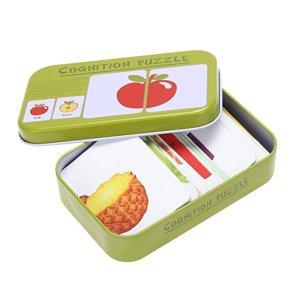 Blaward Juego de Aprendizaje Infantil Preescolar Niños de Madera Jigsaw Juguetes para la Educación Infantil y Aprendizaje Puzzles Juguetes 32 Pcs