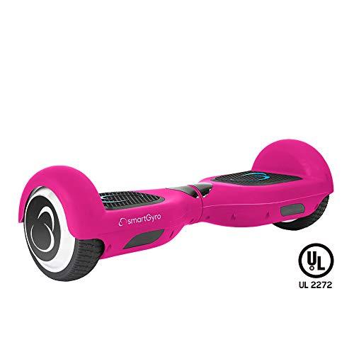 SmartGyro X2 Self Balance Scooter Elettrico con batteria Samsung e certificato UL2272, colore rosa,...