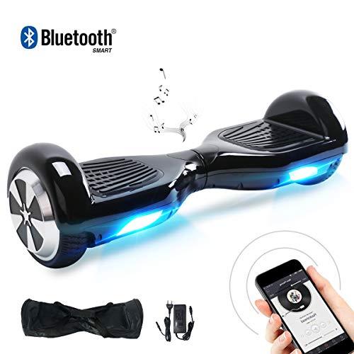 BEBK 6.5' Smart Self Balance Scooter Elettrico Autobilanciato con LED, 2 * 350W Motore