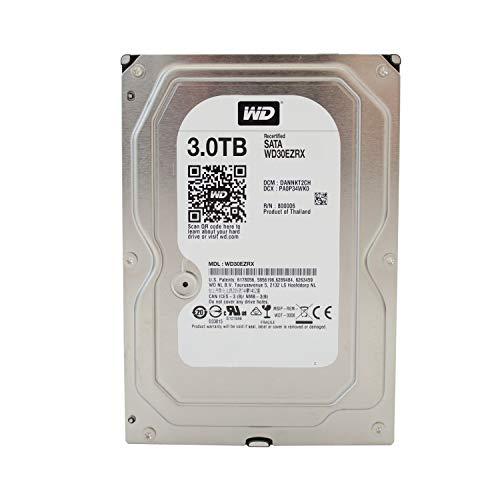 Western Digital Caviar Green Desktop 3,5 64MB Cache SATA-600 Festplatte, HDD - Capacit:3.000GB (3TB)...