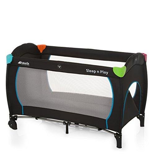 Hauck Sleep N Play Go Plus Lettino da Viaggio 4 Pezzi 120 x 60 cm per Neonati e Bambini Fino a 15 Kg...