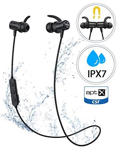 Cuffie Bluetooth Sport aptX, Mpow S11 Auricolari Bluetooth 5.0 Bassi Potenziati, Auricolari Wireless...