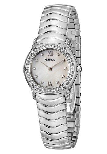 Ebel Damen-Armbanduhr CLASSIC WAVE Analog Quarz 9090F29-971025
