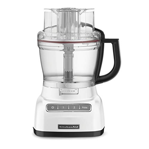 KitchenAid 5KFP1444DFP 300 - Watt Food Processor 14 Cup - Frosted Pearl White