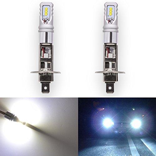 KaTur, luce per auto led o fendinebbia, estremamente luminosa, chip CSP, H1luci di marcia diurna...