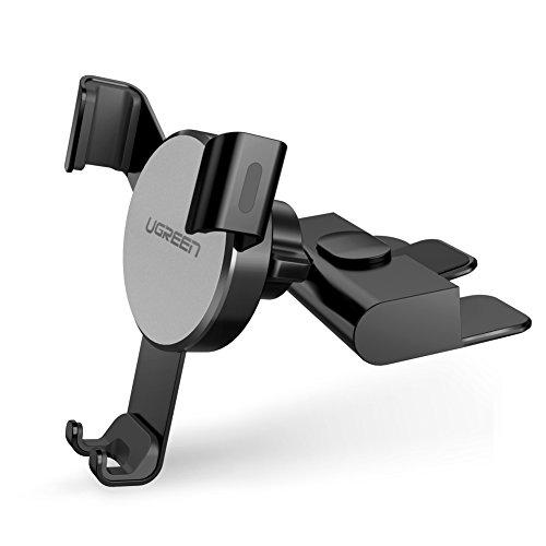 UGREEN Supporto Smartphone per Auto su CD Slot Supporto gravità Auto Porta Cellulare da Auto per...