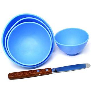 Bonew-4-Stck-Dental-Kunststoffmischung-Alginat-Modellierschnitzer-Gummi-Gipsschssel-2-Rhrspatel
