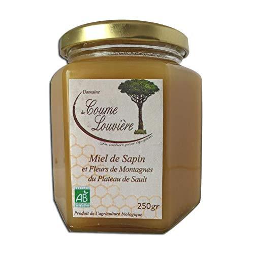 Miel de sapin des Pyrénées et fleurs de montagne Bio 250 g