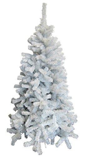 Viscio Trading Casa & Christmas Albero Natale, PVC, Bianco, 113 x 113 x 210 cm