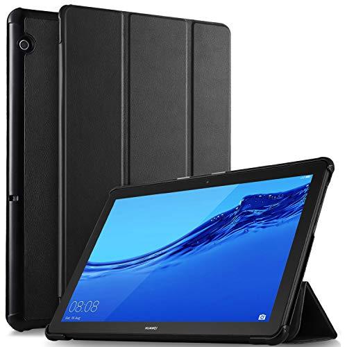 ELTD Custodia Cover per Huawei MediaPad T5 10, Lightweight Pelle con Funzione di Stand Flip...