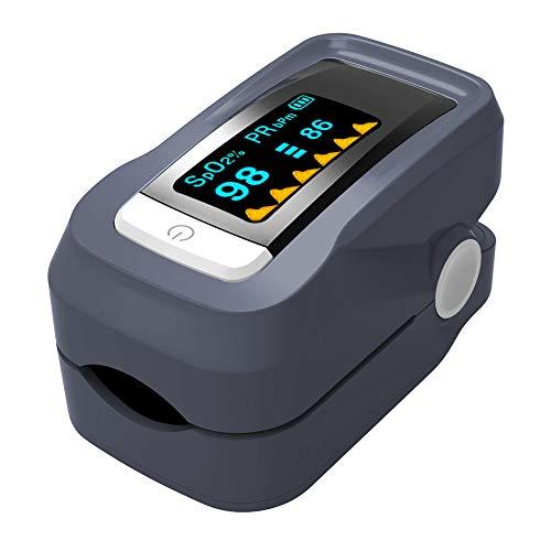 ZDHF Pulsiossimetro Portatile Professionale per Uso Domestico Monitor di saturazione di Ossigeno nel...