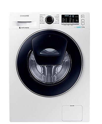 Samsung WW80K5410UW lavatrice Libera installazione Caricamento frontale Bianco 8 kg 1400 Giri/min...
