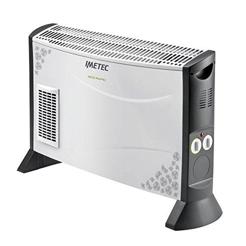 Imetec Eco Rapid TH1-100 Stufa Elettrica 2000 W con Tecnologia a Basso Consumo Energetico,...