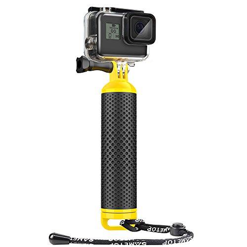 Sametop Impermeabile Impugnatura Galleggiante Floaty Impugnatura per GoPro Hero 6, 5, 4, Session, 3+, 3, 2, 1Macchine fotografiche