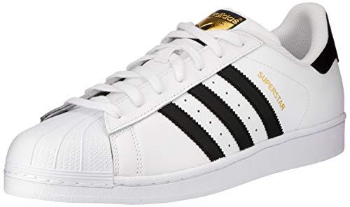 adidas Superstar, Scarpe da Ginnastica Unisex Adulto, Bianco (Ftwr White/Ftwr White/Ftwr White), 44 2/3 EU