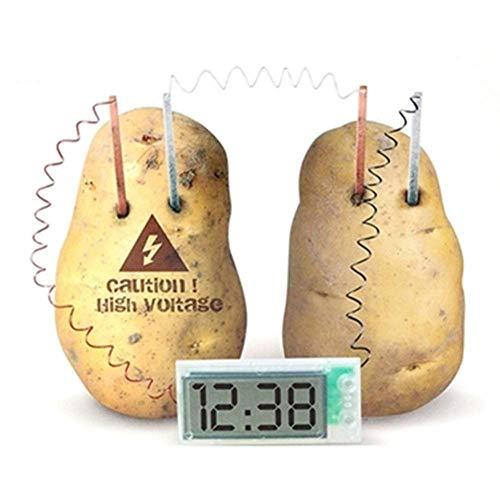 EisEyen Kartoffeluhr Reisewecker Digitaler Wecker Digitaluhr Obst Und Gemüse Obst Power Generation Clock