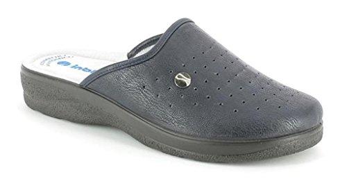 INBLU Pantofole Ciabatte SANITARIE da Uomo MOD RH-32B Blu (41)