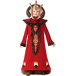 Star Wars Queen AMIDALA Girls Fancy Dress Costume Large