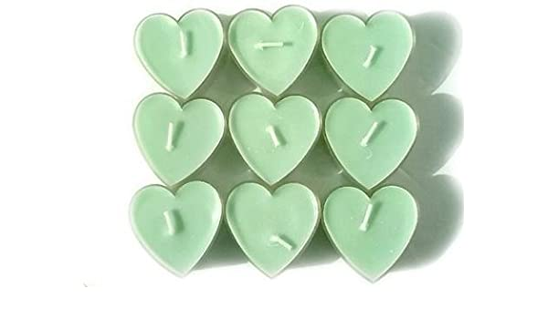 10pcsset Romantic Love Heart Shaped Candles Floating