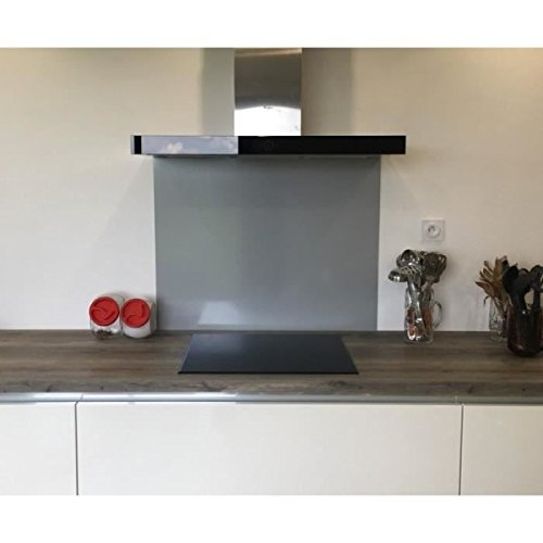 Crédence alluminio grigio Tiger-Altezza 40cm x larghezza 120cm