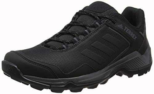 adidas Herren Terrex EASTRAIL Walkingschuhe, Schwarz Carbon/Core Black/Grey Five, 44 2/3 EU
