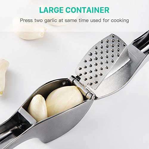 Presse Ail Professionnel FREETOO Garlic Press Pratique Solide- Nettoyage Facile pour la Cuisine