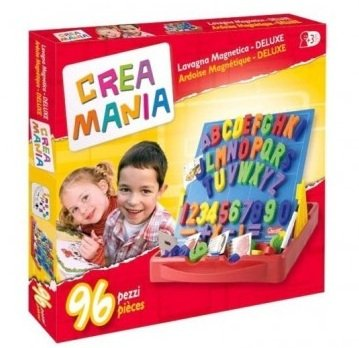 giochi preziosi rdf50121 crea mania lavagna magnetica 96 lettere/numeri