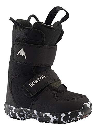 Burton Mini Grom, Scarponi da Snowboard Unisex Bambino, Black, 8C