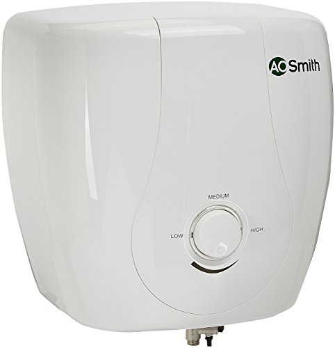 AO Smith HSE-SDS-25 25-Litre Vertical Water Heater (White)