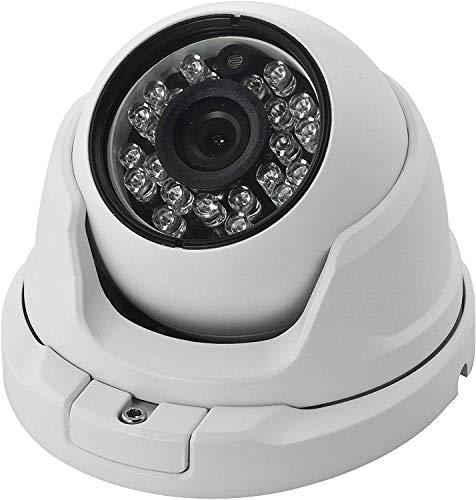 Innovativo CCTV telecamera dome 700 TVL Sony CCD antivandalismo alle intemperie contenitore metallico con OSD-White lsmaa