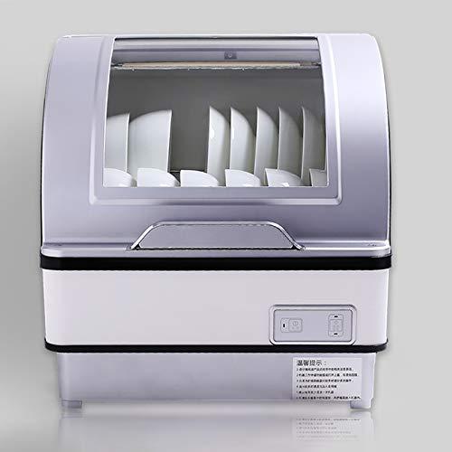 OMLTER Lavastoviglie da Appoggio Portatile con Lavaggio Ultra Veloce Sterilizzazione Automatica per...