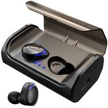 HolyHigh-Auriculares-Bluetooth-50-3000mAh-CVC80-Cascos-Bluetooth-Inalmbricos-IPX5-Impermeable-con-Micrfono-y-Caja-de-Carga-para-Deportes-Gimnasio-para-iOS-Android-Samsung-HuaweiLuz-Azul