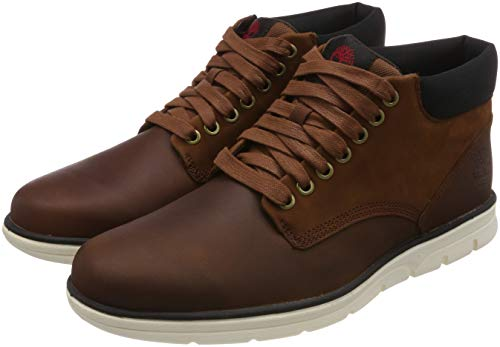 Timberland Herren Bradstreet Leather Sensorflex Chukka Boots, Braun (Md Brown Full Grain), 43 EU