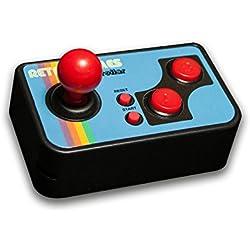 thumbs UP! Mini TV Games - inkl. 200 Retro Spielen - Retro, Vintage, Gaming, 80er, Videospiel - 0001357